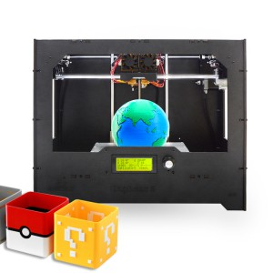 Geeetech wood Duplicator 5 DIY dual extruder 3D Printer
