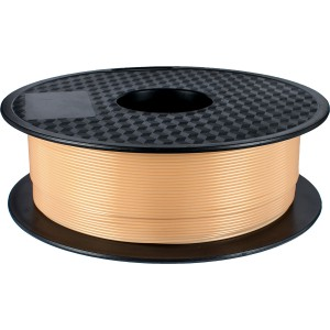 3D Printer supplies Filament RepRap PLA 1kg/roll  Sand Gold