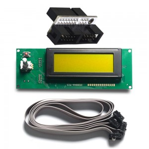 Sanguinololu Board Reprap LCD2004 controller and adapter