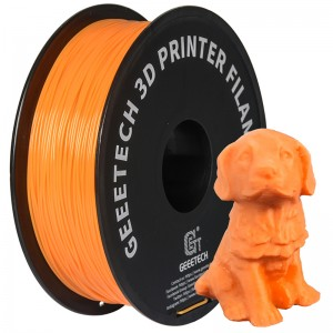 3D Printer supplies Filament RepRap PLA 1kg/roll Orange