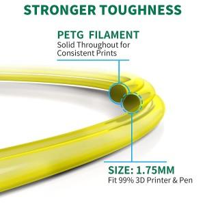 Geeetech PETG Yellow 1.75mm 1kg/roll