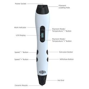 EU Plug TG-17 3D Printing Pen