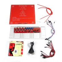 Melzi kits-Heatbed PCB MK2a+Thermistor+Acrylic plate+Cables ect.