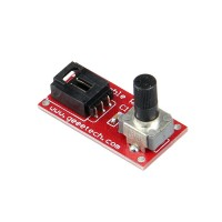 Arduino Potentiometer module for Sensor Shield Rotation