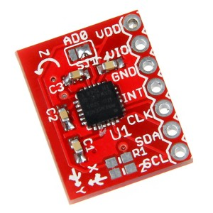 XZN ITG-3205 Triple-Axis Digital-Output Gyro Breakout