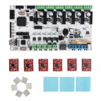 Geeetech Rumba + 6 X A4988 stepper driver+ 3XHeatsink + sticker