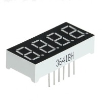 4Pcs, LED 0.36 inch size common cathode