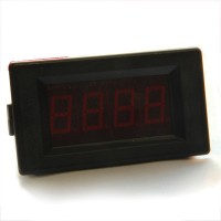 Red LED Digital DC Volt Panel Meter/200V