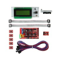 RAMPS 1.4,SD card breakout,5pcs A4988, LCD Smart Controller...