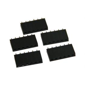 5pcs Arduino 6 Pin SMD Female Shield Headers