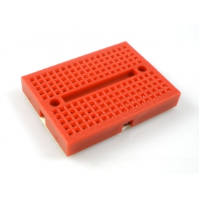 Self-Adhesive Mini Breadboard  Red