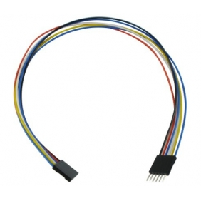 6pcs 6pin M/F Jumper Wires