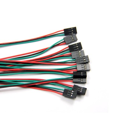 12pcs 3Pin F/F Jumper Wires