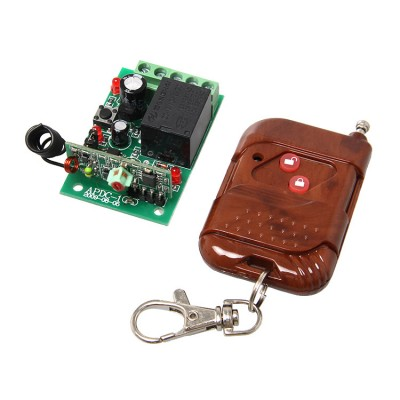 Single Channel RF Wireless Relay Remote Control Module