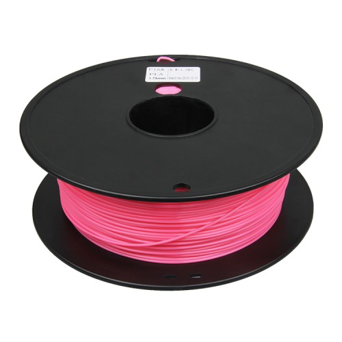 3D Printer supplies Filament RepRap PLA 1kg/roll Pink