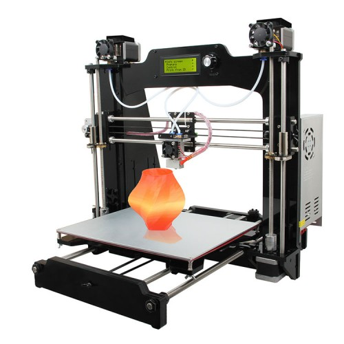 Geeetech Prusa I3 M201 Dual extruder Mixcolor open source 3D pri