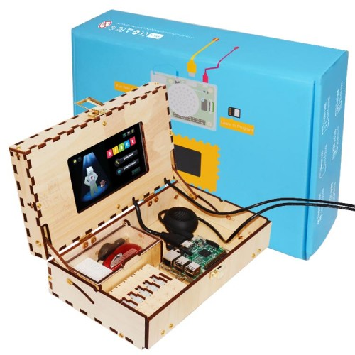 TEQStone Computer Kit for Kids STEM and Coding Training Toy