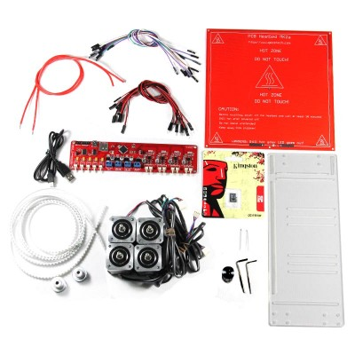 RepRap Melzi Board+Heatbed MK2a+Stepper Motor+T5 pulley&belt