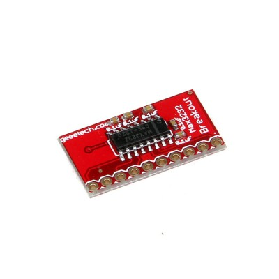 MAX3232 breakout with RS232 converter IC