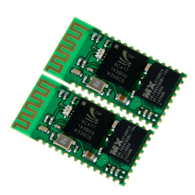 2PCS Wireless Bluetooth Master-Slave 2 in1 Module RS232 / TTL