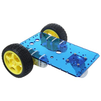 New Version Smart Robot Car Kits with Speed encoder Battery Box