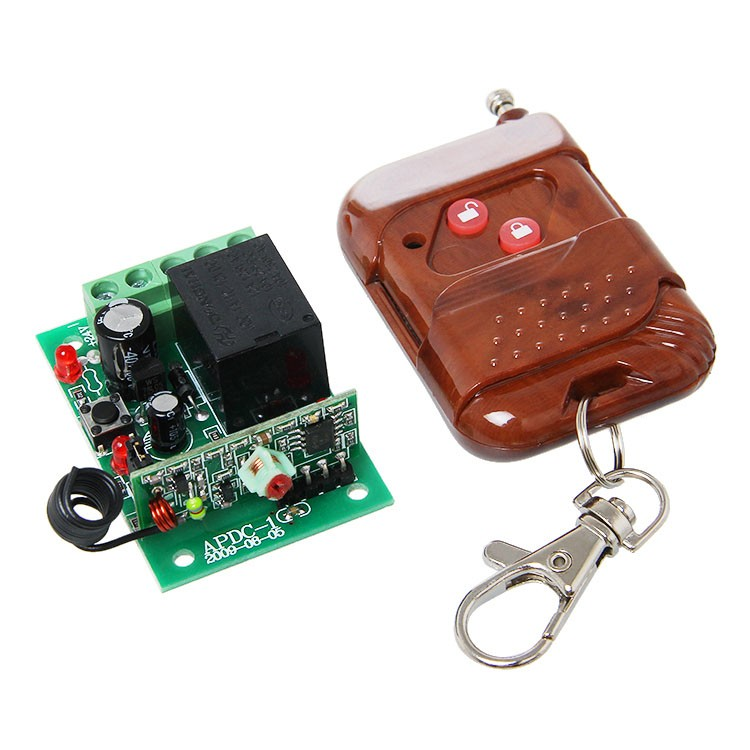 Single Channel RF Wireless Relay Remote Control Module [800