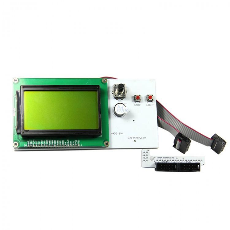 Reprap Smart controller 12864 with LED turn on control,3D printer,Mendel,Prusa