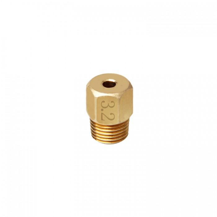 Brass Connector 1.75//3mm for Peek J-head hotend 3D printer Filament Feeding