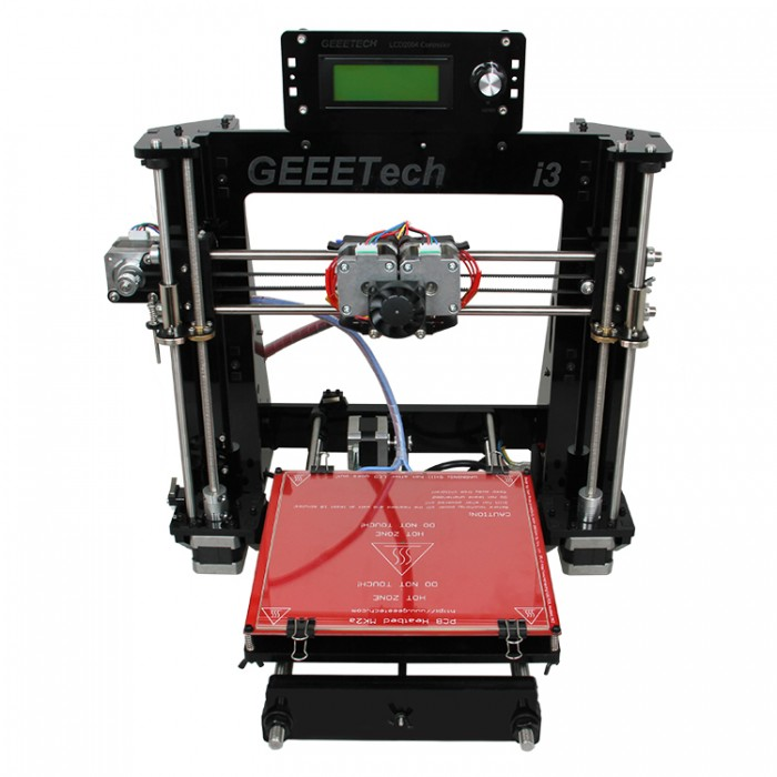 Geeetech 3D Printer Prusa Acrylic I3 Pro C Dual MK8 Extruder Shipping from US