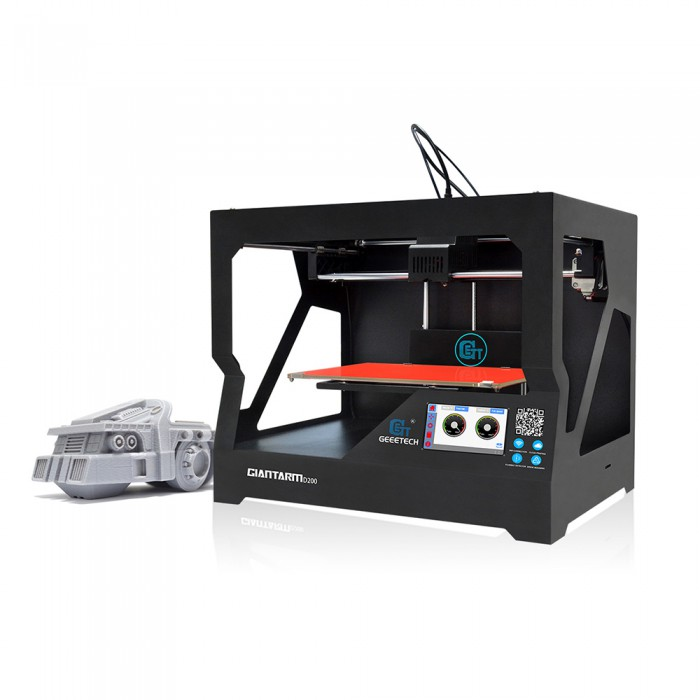 3d Printers & Supplies Geeetech High Quality Giantarm D200 Wifi Cloud Connected 3d Stampante Up-To-Date Styling Lovely Free Taxs