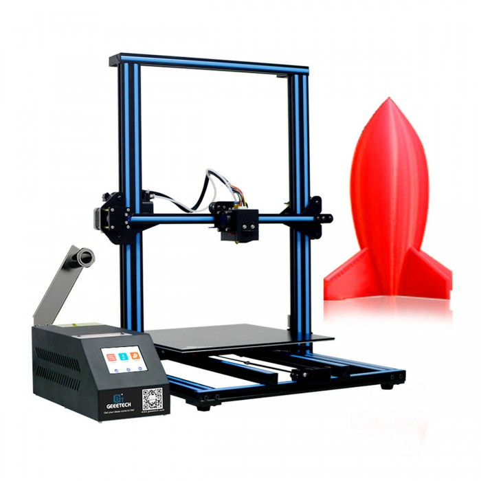 Geeetech A30 Pro 3D Printer with Single Nozzle TF Card Standalone Printing Semi-Assembled DIY Kit and Large Volume Printers 320x320x420mm