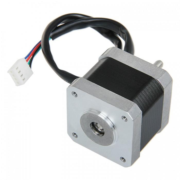 Nema 17 42 byg shaft reversed stepper motor 700 001 0284 for Nema 17 stepper motor torque