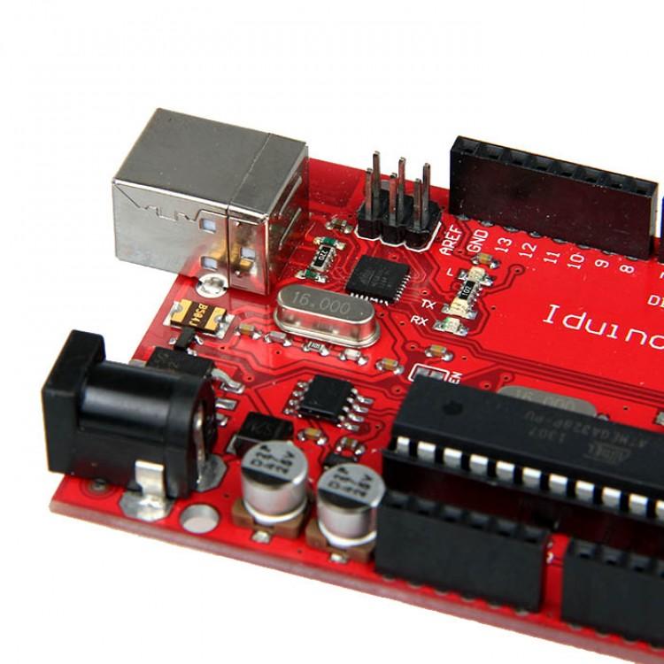 New Geeetech Iduino UNO ATmega328 development board compatible with Arduino UNO