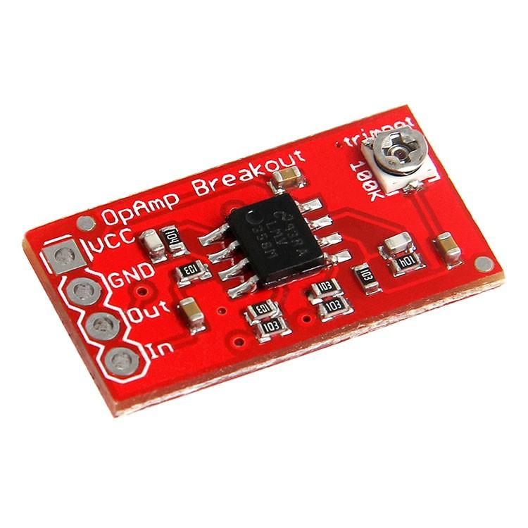 Opamp Op Amp Breakout Board 700 001 0111 11 50
