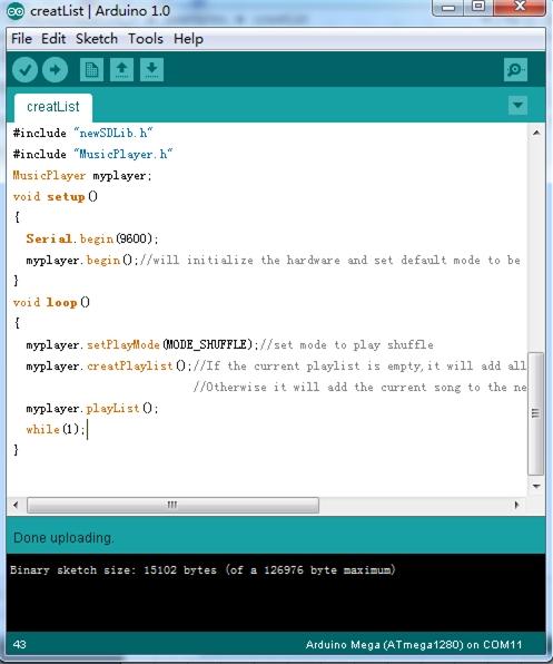 Arduino music shield v geeetech wiki