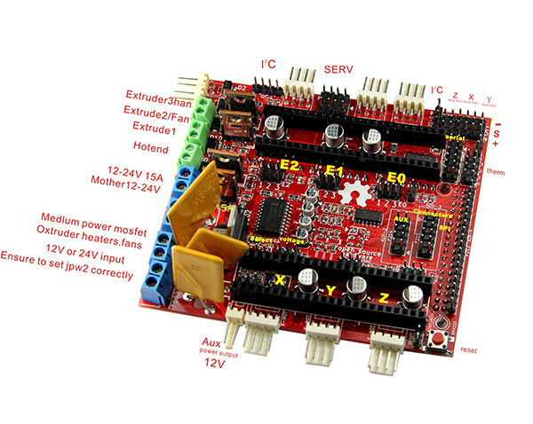 Adafruit Motor Shield V2 for Arduino - Open