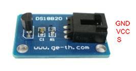 DS18B20 Temperature Sensor Module - Geeetech Wiki