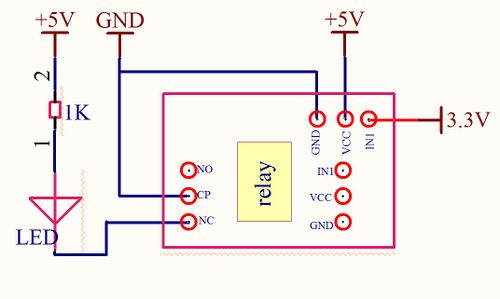 One-channel Relay Module
