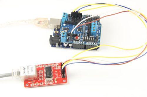 Arduino ENC28J60 Ethernet Module - Geeetech Wiki