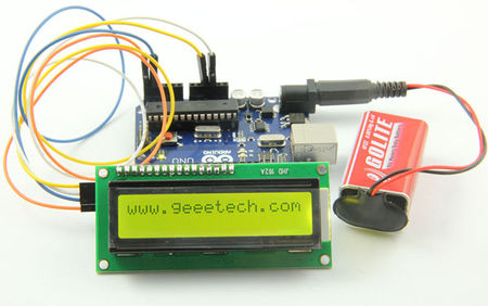 Serial I2C 1602 16×2 Character LCD Module - Geeetech Wiki