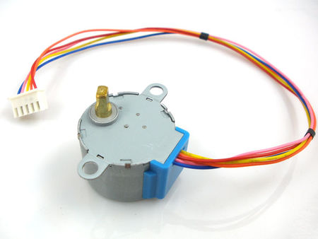 Stepper motor 5v 4 phase 5 wire uln2003 driver board for for Three phase stepper motor driver