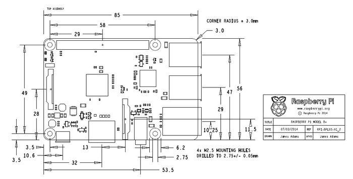 on raspberry pi schematic diagram