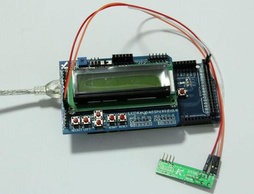 Wireless temperature and humidity sensor with RF modules